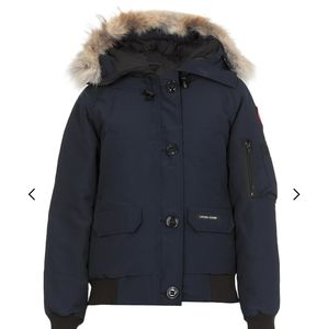NWT Canada goose Chilliwack hooded bumper jacket